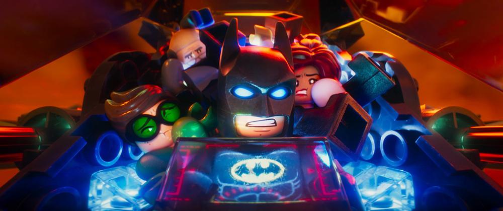 Lego Batman screen