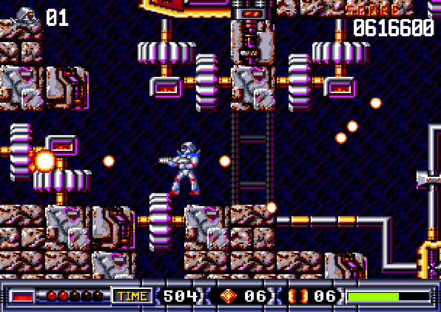 Turrican 2 screen