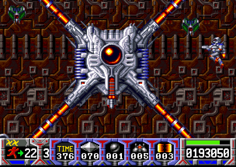 Turrican guardian thing