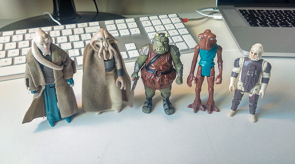 Kenner Star Wars figures