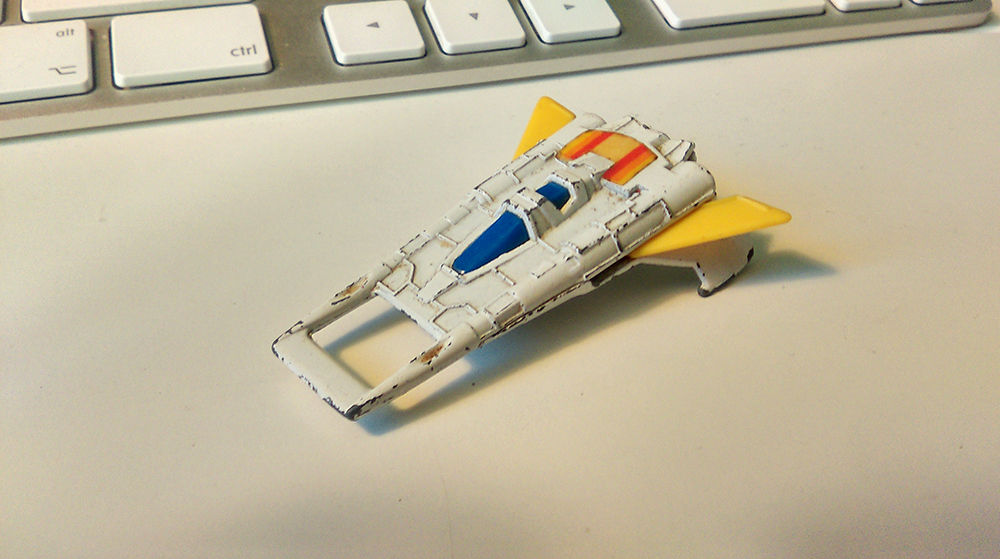 Buck Rogers spaceship