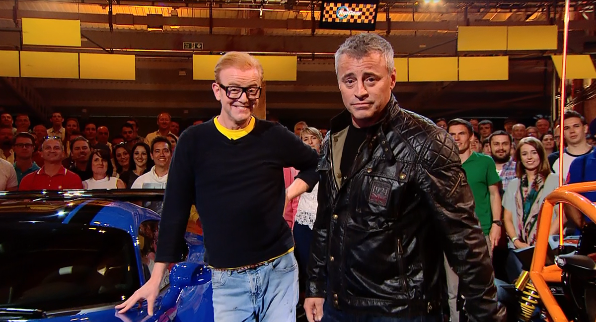 Top Gear series 23 in the studio