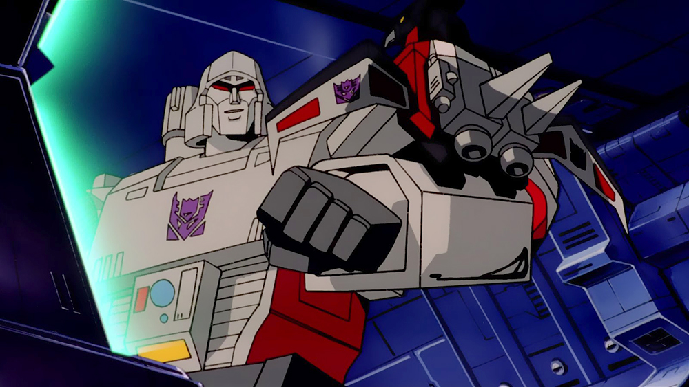 Megatron, Transformers The Movie, 1986
