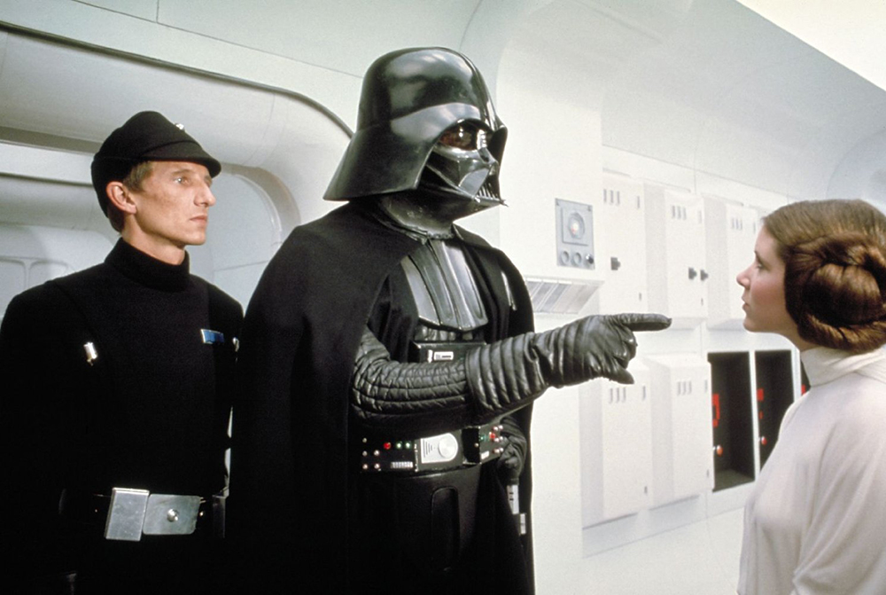 Darth Vader and Leia
