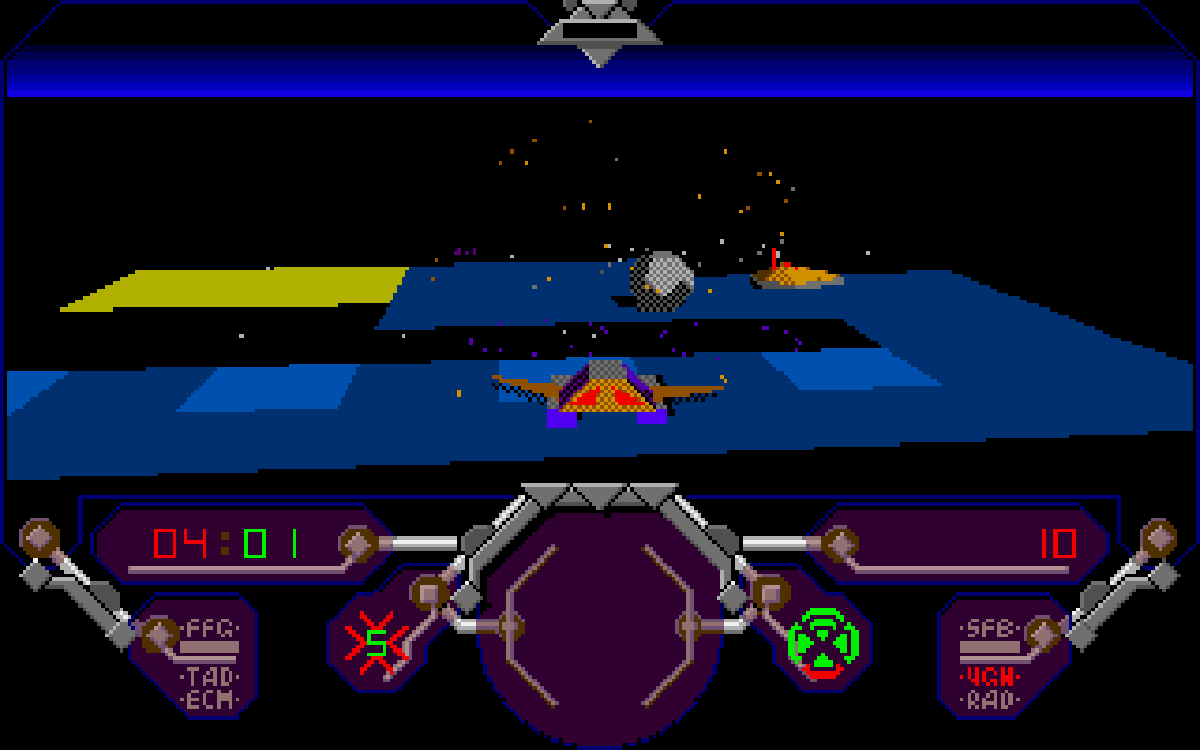 Simulcra screenshot - Amiga