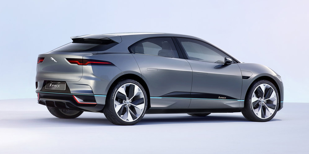 Jaguar I-Pace back