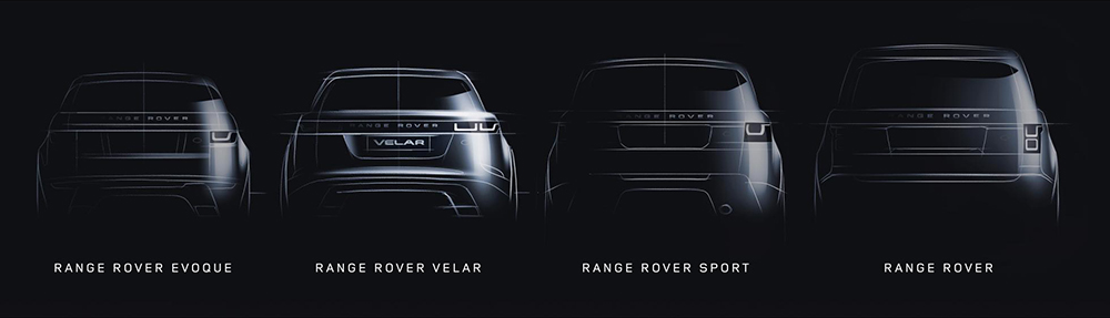 Range Rover range. Which is a mouthful.