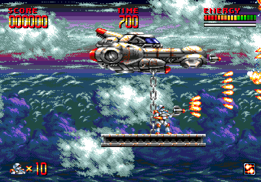 Mega Turrican screen