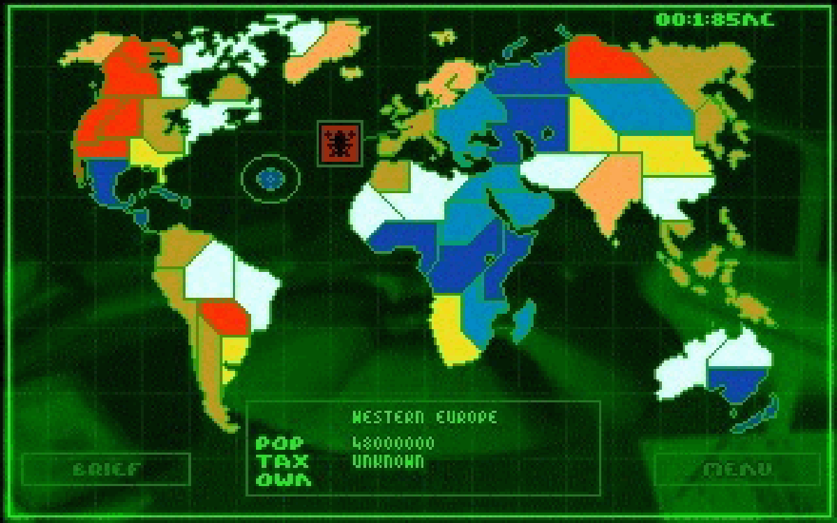 Syndicate World Map