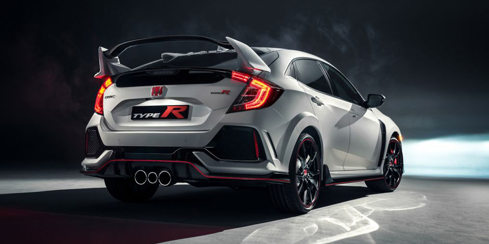 2017 Honda Civic Type R back