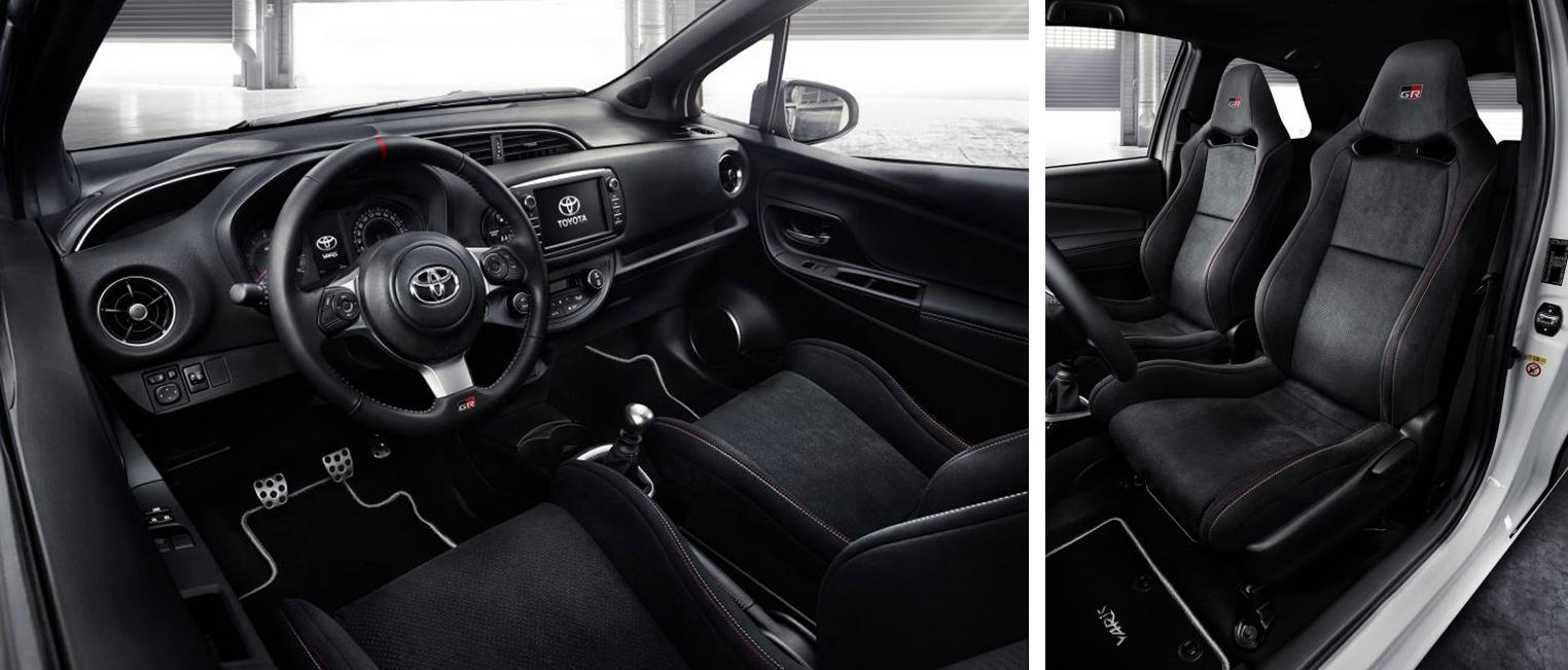 2017 Toyota Yaris GRMN interior