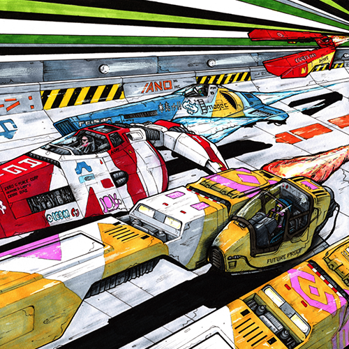 WipEout commission